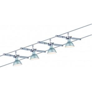 Wire System TogoLED 4x4W GU5,3 chrome 230/12V 80VA métal