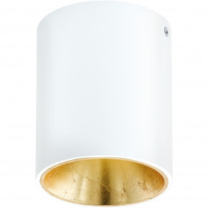 Luminaire EGLO moderne or|blanche