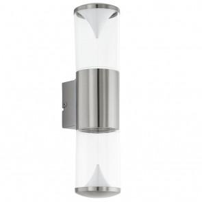 Penalva, LED, Höhe 33,5 cm, IP44, metallisch