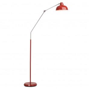 Luminaire Brilliant démodé métallique|rouge