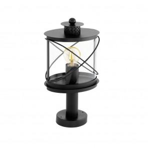 Luminaire EGLO moderne noire|transparent