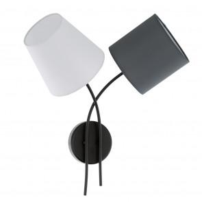 Luminaire EGLO moderne anthracite noire blanche