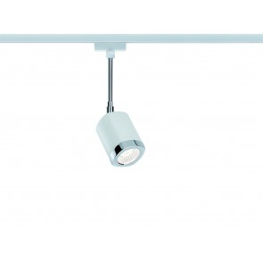URail Systems LED Spot Wankel 1x5,4W blanc/chrome 230V métal