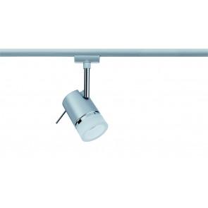 URail System LED Spot Pipe 1x3,5W GU10 chrome mat/chrome 230V métal