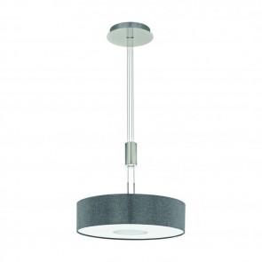 Romao, LED, höhenverstellbar, Ø 53 cm, grau