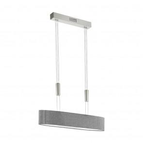 Luminaire EGLO moderne chrome|gris|métallique