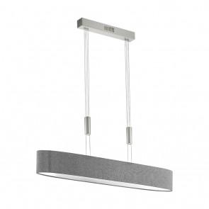 Romao, LED, höhenverstellbar, Länge 105 cm, grau
