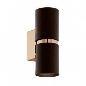 Passa, Höhe 17 cm, LED, braun-kupfer