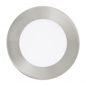 Fueva 1, LED, IP20, Ø 12 cm, nickel-matt