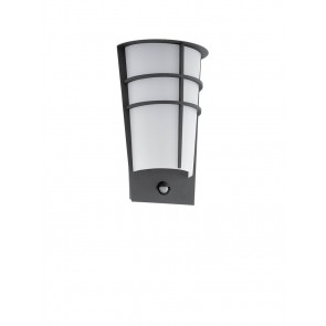 Breganzo 1, LED, Bewegungsmelder, Anthrazit