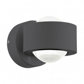 Ono 2, LED, Höhe 8 cm, anthrazit