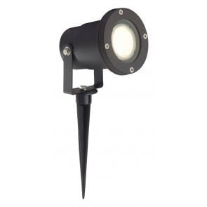 Janko, LED, IP44, schwarz