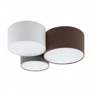 Luminaire EGLO moderne marron|gris|blanche