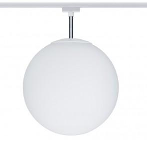 URail Ceiling Globe Big max 1x20W E27 Weiß/Opal 230V Metall/Glas dimmbar