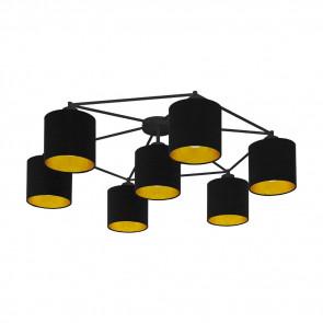 Luminaire EGLO démodé or|noire