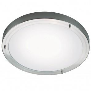 Ancona Maxi, E27, diamètre 31 cm, acier brossé