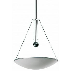 Luminaire Luceplan moderne métallique blanche