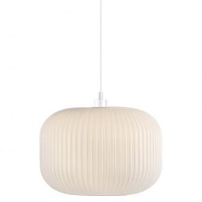 Milford 30, E27, IP20, Ø 30 cm, weiß