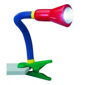 Luminaire Trio démodé bleu|multicolore|jaune|vert|rouge