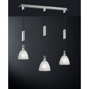 Luminaire Wofi moderne gris|argent