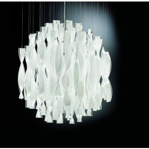 Luminaire Axo Light classique chrome|blanche