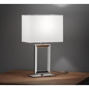 Luminaire Helestra moderne métallique|argent|blanche