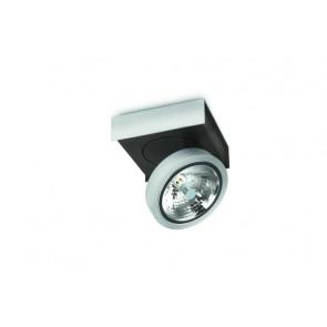 Bonq, 1-lampe, 14,1 x 14,1 cm, couleur aluminium