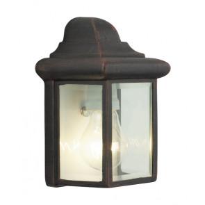 Luminaire Brilliant rustique couleur rouille