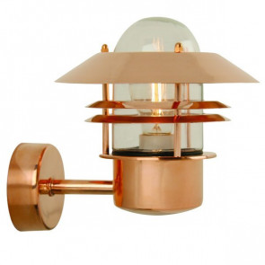 Luminaire Nordlux moderne marron métallique