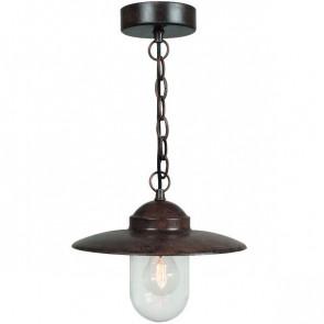 Luminaire Nordlux maison decampagne marron|couleur rouille|transparent