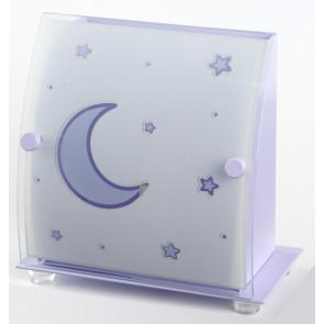 Luminaire Dalber fantaisie violette|blanche