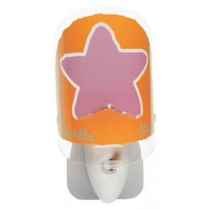Luminaire Dalber fantaisie orange|blanche