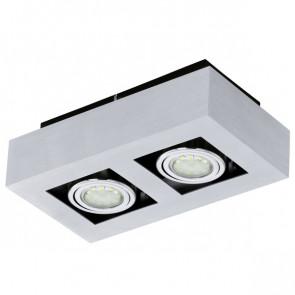 Luminaire EGLO moderne chrome|métallique|noire