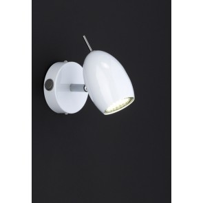 Quincy, 1-lampe, diamètre 14 cm, blanc