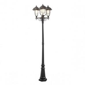 Parma, 3-lampes, hauteur 230 cm, noir
