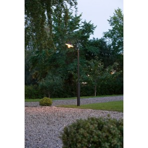 Vega, 1-lampe, hauteur 240 cm, noir