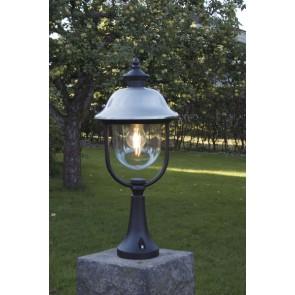 Parma, hauteur 52 cm, inox Lampe à toît, noir