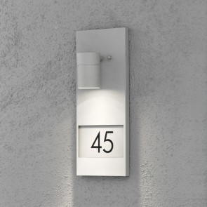 Modena, hauteur 41 cm, espace pour pour trois nombres, gris