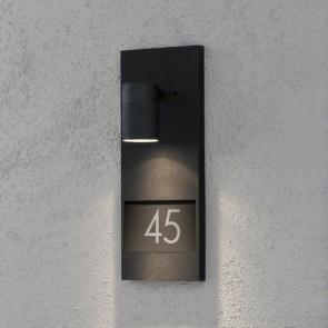 Modena, hauteur 41 cm, espace pour pour trois nombres, noir