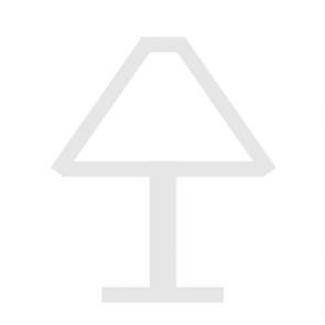 Luminaire Heitronic moderne marron|blanche