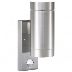 Tin Maxi Sensor, 2-lampes, hauteur 23 cm, diamètre 7,6 cm, aluminium