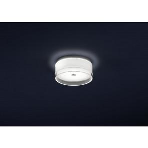Luminaire Helestra moderne transparent|blanche